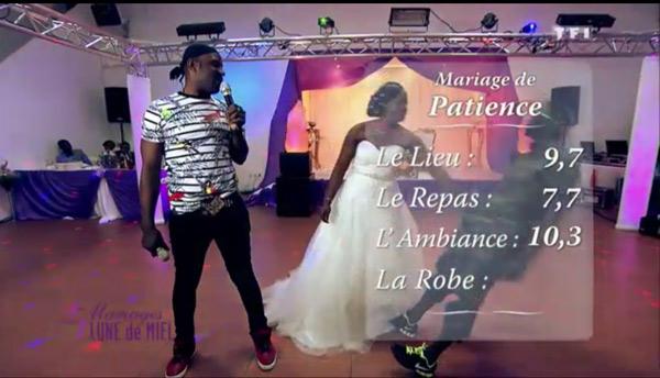 Les notes de Patience dans 4 mariages pour 1 lune de miel