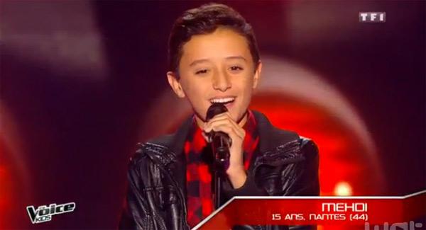 Vos avis sur Mehdi qui a illuminé le plateau de The Voice Kids 2 : Jenifer en reste sur le popo !!