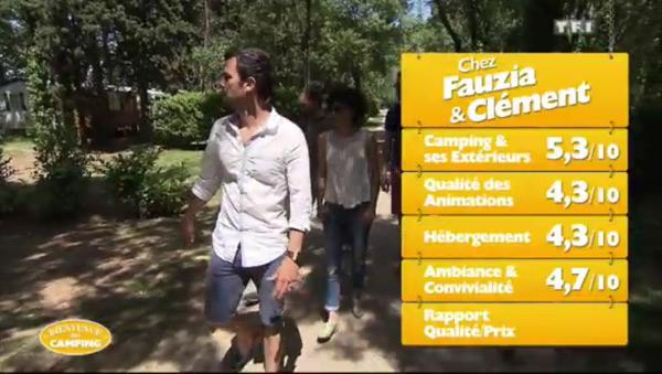 Les notes pour le camping de Fauzia et Clément dans Bienvenue au camping