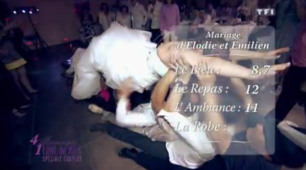 Les notes au mariage Elodie et Emilien de 4 mariages du 8 septembre 2015