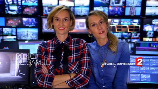 Parfaites...presque sur France 2 : les jumelles ont leur programme d'humour !