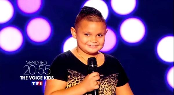 Swany le gitan de The Voice Kids 2 : trop choupinet non ?