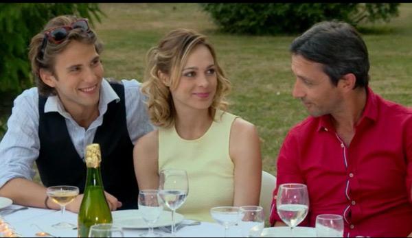 Sylvain, Chloé et Christian le couple à 3 dans les mystères de l'amour saison 10