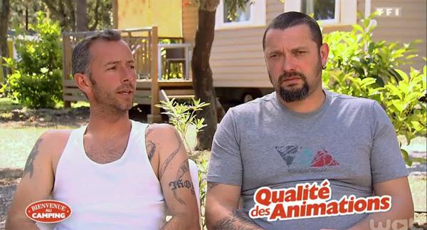 Avis et réactions sur le camping de Sylvain et Wilfried dans Bienvenue au camping
