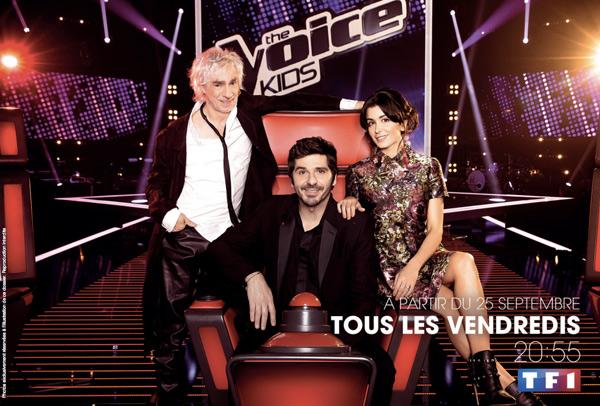C'est parti pour The Voice Kids 2 le vendredi soir !