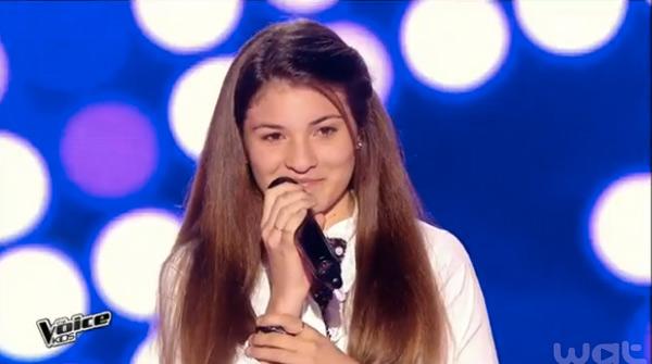 Selena dans les auditions à l'aveugle pour The Voice Kids 2