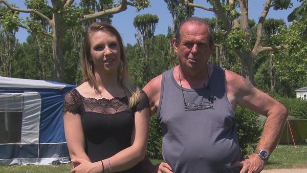 Vos avis et réactions sur André et Audrey dans Bienvenue au camping sur TF1 /Crédit photo TF1