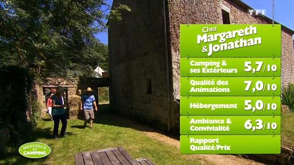 Les notes de Jonathan et Margareth sur TF1