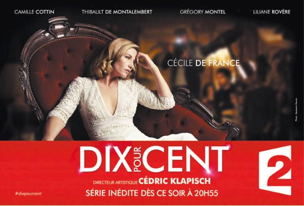 Cécile de France guesr star de luxe dans Dix pour cent : audience record pour la fiction de France 2 ?