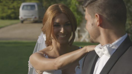 Charlotte et Stany le mariage dans Zone Interdite spécial gitans / Capture écran
