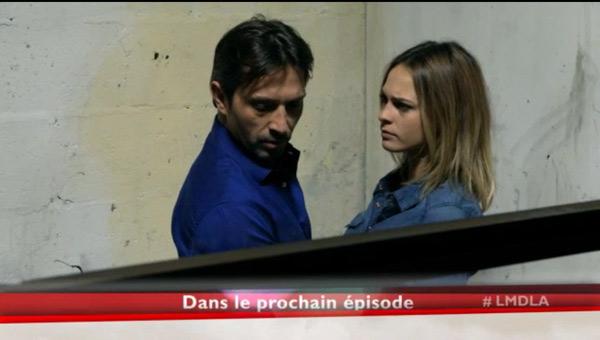 La tête de Christian et Chloé qui apprennent le retour de Fanny en France
