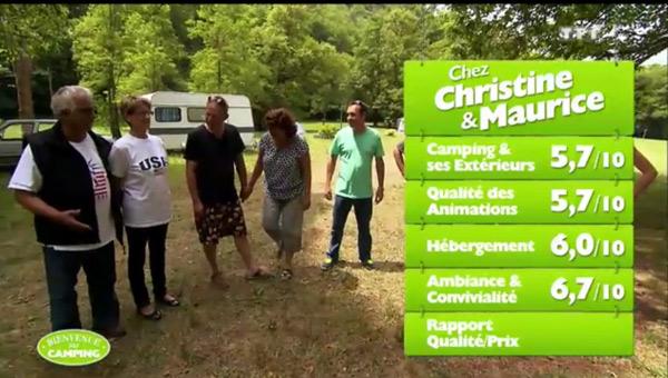 Christine et Maurice mal en point pour être les gagnants vendredi soir