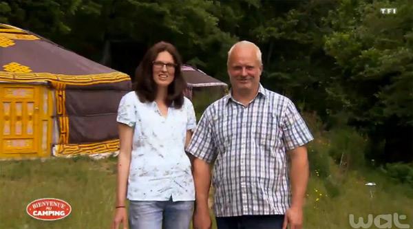 Avis et commentaires de Corinne et Denys dans Bienvenue au camping sur TF1