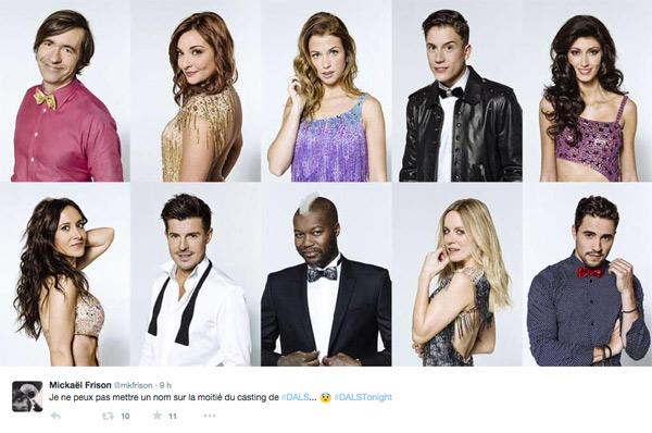 Danse avec les stars 6 trop d'inconnus ? les vraies stars ce sont les danseurs cette année non ?