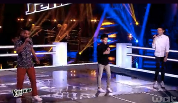 La battle Jenifer avec Medhi, Lisandro et Ferhat  dans The Voice Kids 2