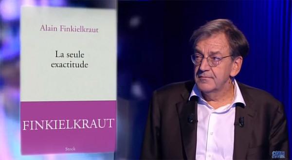 Vos commentaires sur le débat d'Alain Finkielkraut dans ONPC