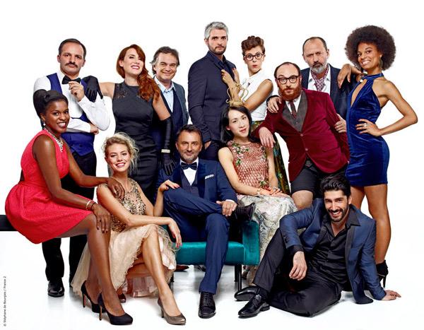 La bande de Folie Passagère sur France 2 / Stéphane de Bourgies-FTV