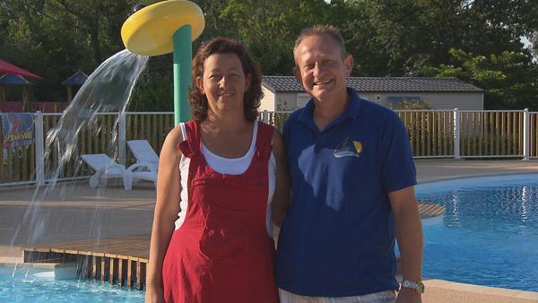 Avis et commentaires sur le camping d'Helene et Freddy dans le 40 / Photo TF1
