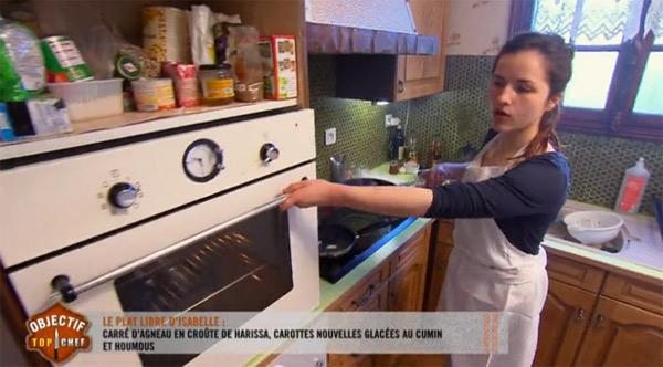 Isabelle Dugros en finale Objectif Top Chef 2015