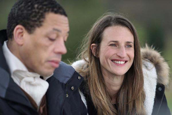 Joey Starr et Camille Cottin dans Dix pour cent / Photo Christophe Brachet - FTV