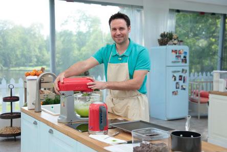 Blog de pâtisserie de Johan du meilleur pâtissier M6 / Photo Lou Breton