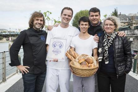 Christophe et Mathis gagnant de la meilleure boulangerie de France 2015 sur M6