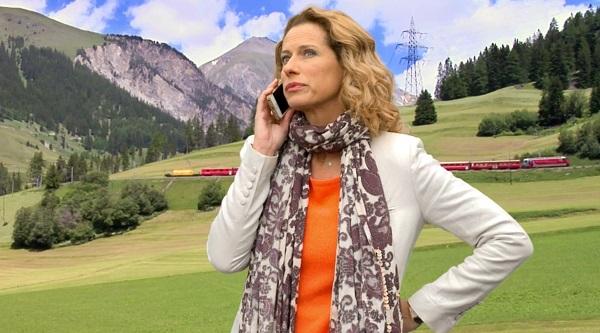 Audrey en Suisse avec Nicky