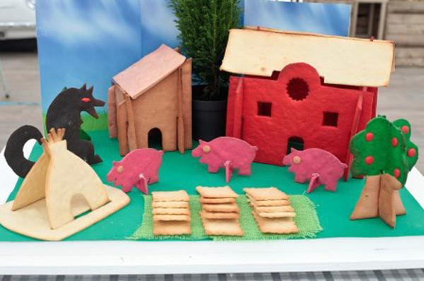 La ferme décor 3D dans le meilleur pâtissier / Photo Lou breton