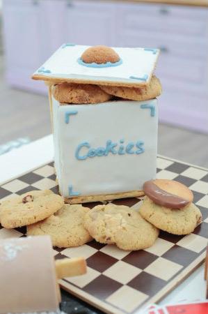 La boîte à Cookies dans #LMP épisode 3 / Photo Lou Breton