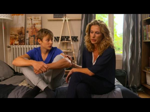 Audrey s'inquiète de l'état de son fils Nicky suite à l'état de marie