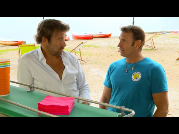Jimmy et Nicolas au watersport : l'amitié au rendez vous