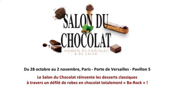 Quelles personnalités pour le défilé au salon du chocolat 2015 ?