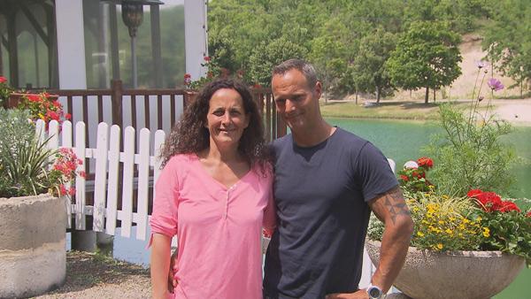 Vos avis sur le camping de Sophie et Roderick du Tarn et garonne : vous aimez ? / Photo TF1