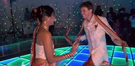 Le mariage de Susene et Amaury façon Bollywood dans Zone Interdite