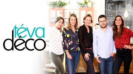 Les avis sur Téva Déco avec Elsa Leeb et Jessica Venancio dès le 11/10/2015 // Photo Aurelien FAIDY/TEVA