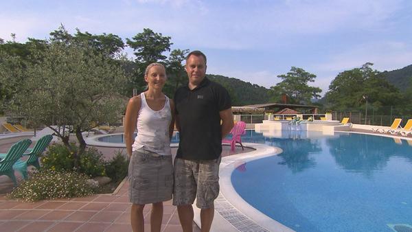 Vos avis sur le camping ardéchois de Valérie et Frédéric de Bienvenue au camping sur TF1