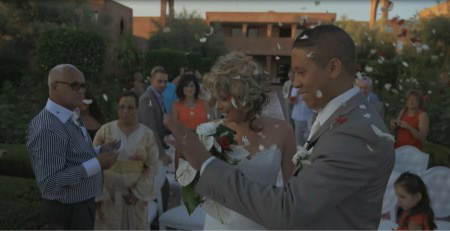 Mariage marocain entre Yacine et Florence sur M6
