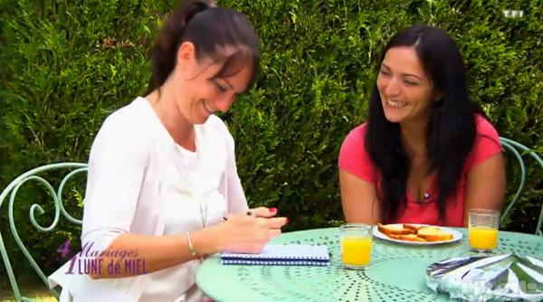 Charlène la wedding planner de Vanessa et Mickael : la décoration vous plait-elle ?