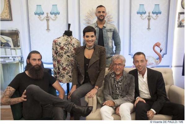 Les rois du shopping branchés en jean en décembre 2015