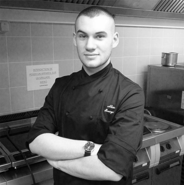 Le beau cuisinier Allan Bourgoin dans Objectif Top Chef / Photo www.facebook.com/allan.bourgoin