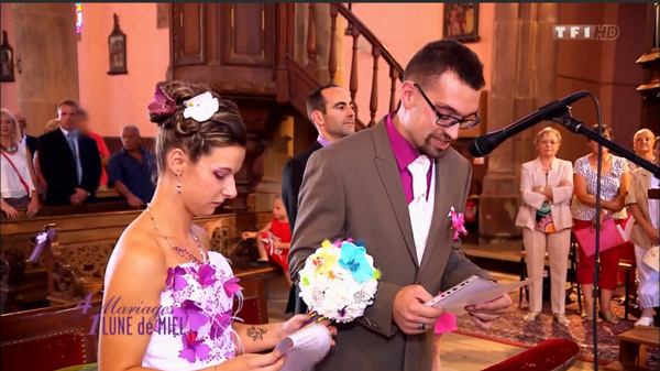 Le mariage de Cassandra dans 4 mariages pour 1 lune de miel  avec Thomas : vos avis