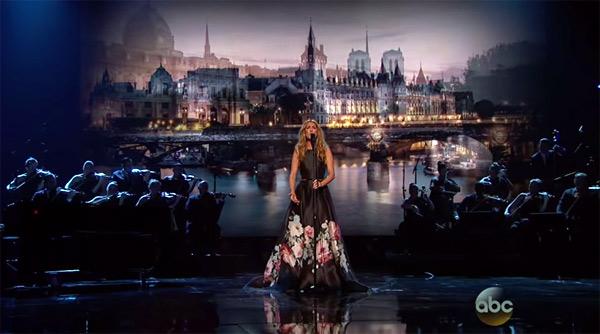 Vos avis et commentaires sur Céline Dion aux American Music Awards 2015 : hommage aux victimes de Paris Attacks