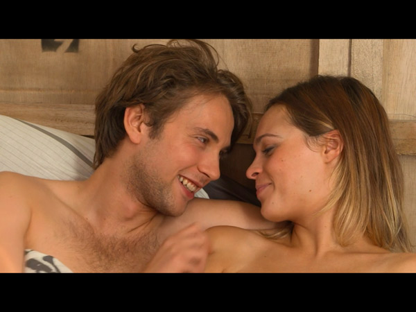 Chloé et Sylvain amoureux : un beau couple !