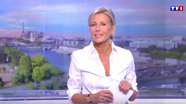 Vos réactions sur le retour de Claire Chazal à la télé sur France 5 / Capture écran