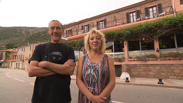 Donnez vos avis et commentaires sur l'hôtel de Claire et Didier en Corse dans Bienvenue à l'hôtel / Photo TF1