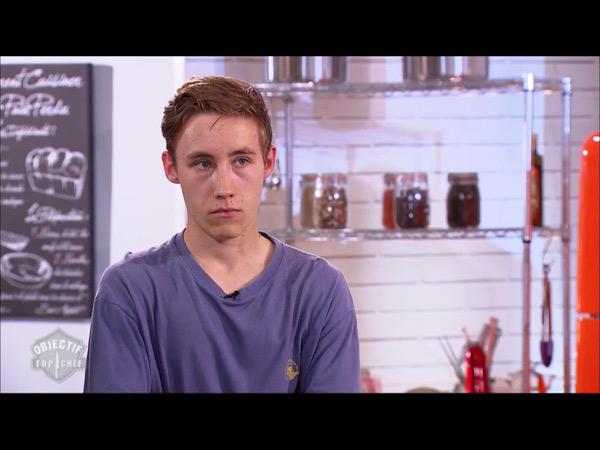 Jason est le vainqueur mardi d'Objectif Top Chef