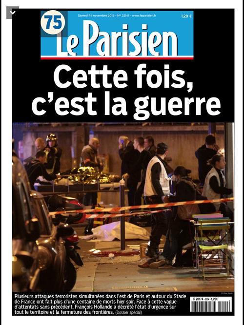 Vos réactions, vos soutiens au victimes et aux proches des attentats de Paris du 13/11/2015
