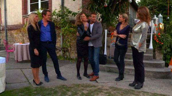 Johanna retrouve ses amis dans #LMDLA : Peter, Helene, Olga, Jimmy et Béné