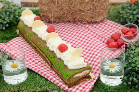 Le roulé cake dans #LMP très original / Photo Lou Breton-M6