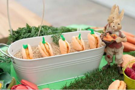 Le jardin de macarons de Carine dans #LMP / Crédit : Lou BRETON/M6